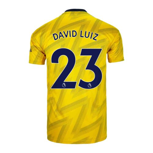 2019/20 Kids adidas David Luiz Arsenal Away Jersey