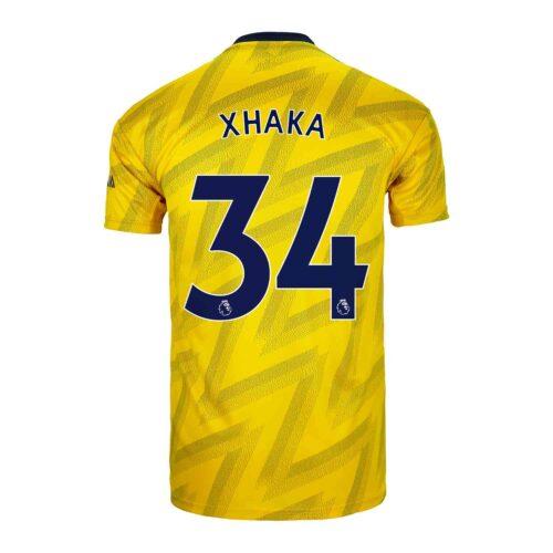 2019/20 Kids adidas Granit Xhaka Arsenal Away Jersey