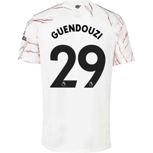 2020/21 adidas Matteo Guendouzi Arsenal Away Jersey
