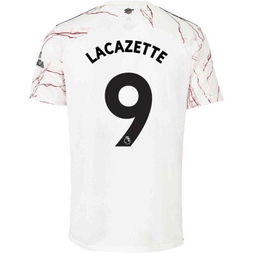 2020/21 adidas Alexandre Lacazette Arsenal Away Jersey