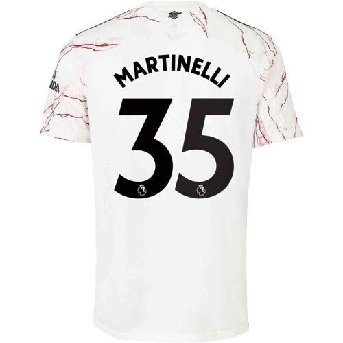 2020/21 adidas Gabriel Martinelli Arsenal Away Jersey