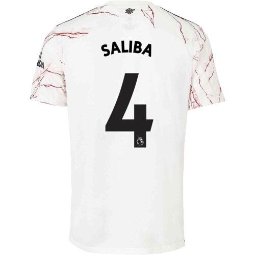 2020/21 adidas Willian Saliba Arsenal Away Jersey