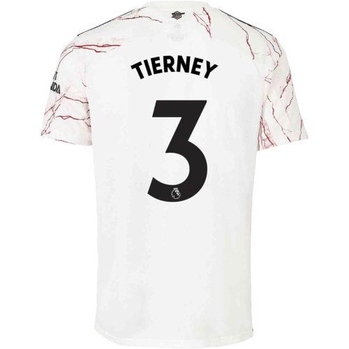 2020/21 adidas Kieran Tierney Arsenal Away Jersey
