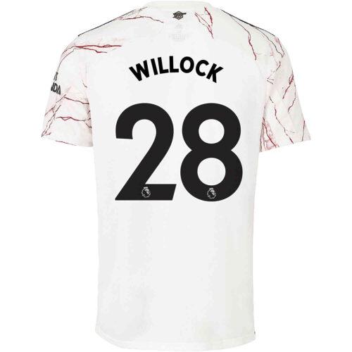 2020/21 adidas Joe Willock Arsenal Away Jersey