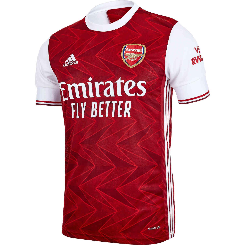 2020/21 adidas Arsenal Home Jersey - SoccerPro