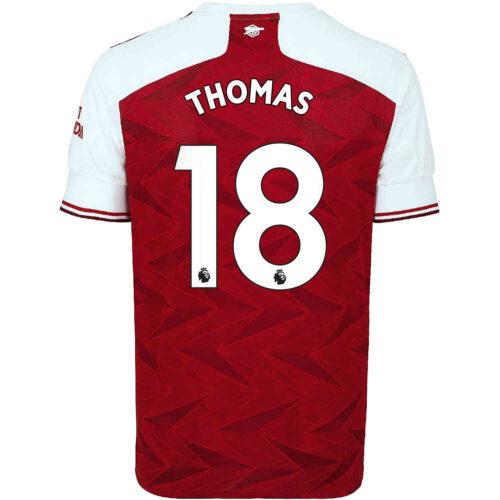 2020/21 adidas Thomas Partey Arsenal Home Jersey