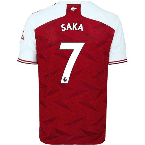 2020/21 adidas Bukayo Saka Arsenal Home Jersey