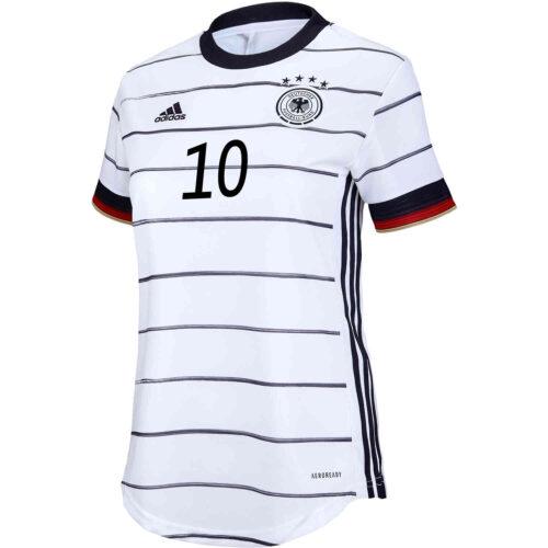 2020 Womens adidas Serge Gnabry Germany Home Jersey