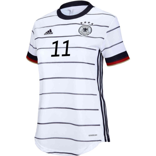 2020 Womens adidas Timo Werner Germany Home Jersey