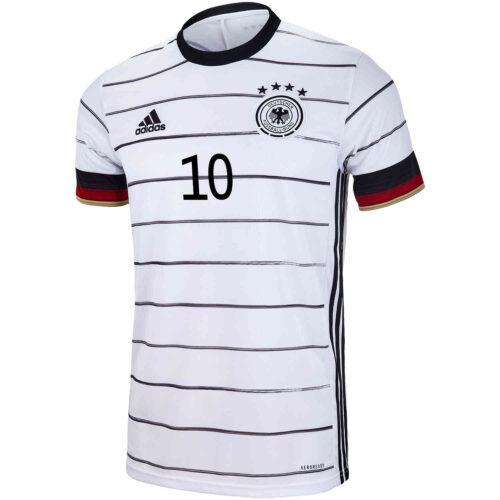 2020 Kids adidas Serge Gnabry Germany Home Jersey