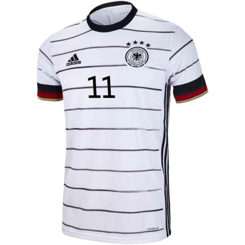 2020 Kids adidas Timo Werner Germany Home Jersey
