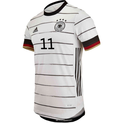 2020 adidas Timo Werner Germany Home Authentic Jersey