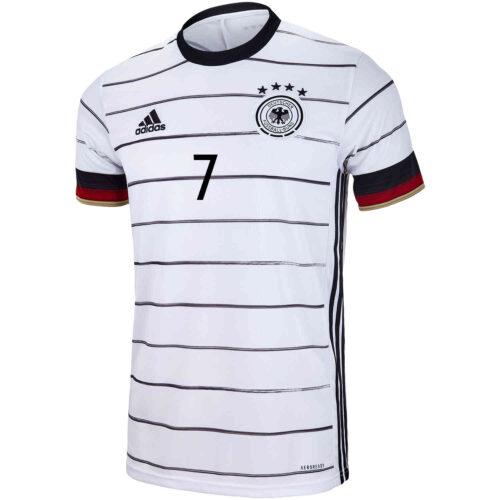 2020 adidas Kai Havertz Germany Home Jersey