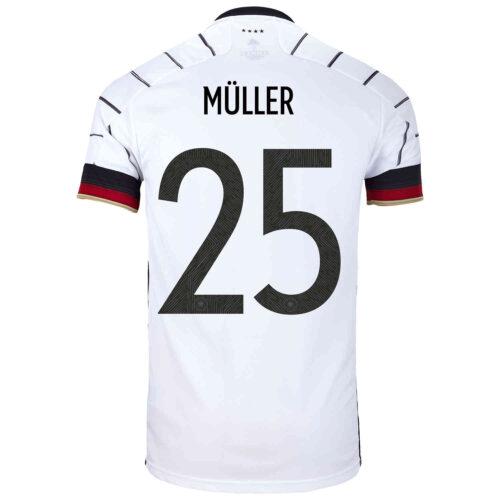 2020 adidas Thomas Muller Germany Home Jersey