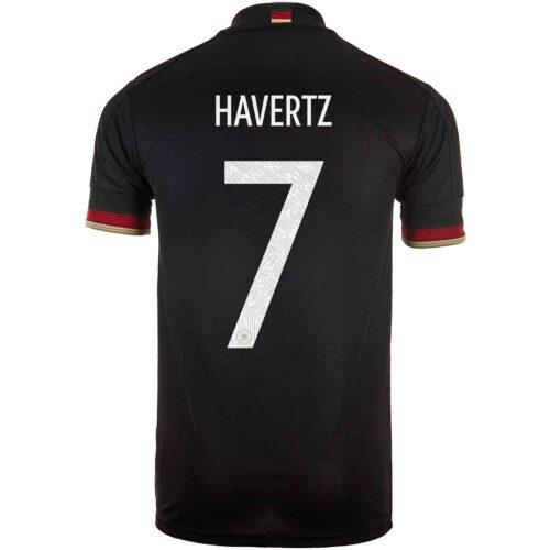 2021 Kids adidas Kai Havertz Germany Away Jersey