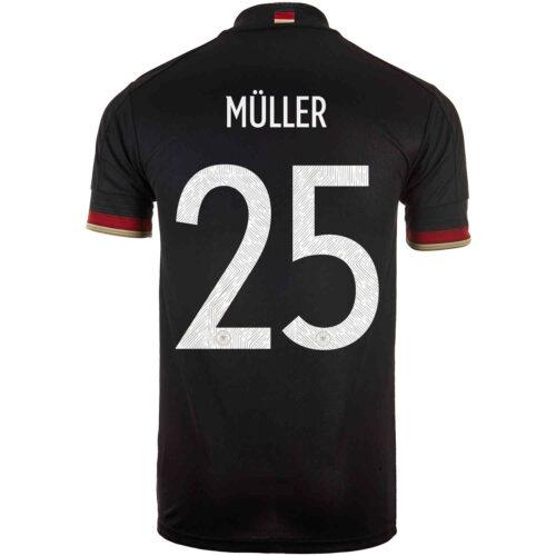 2021 Kids adidas Thomas Muller Germany Away Jersey