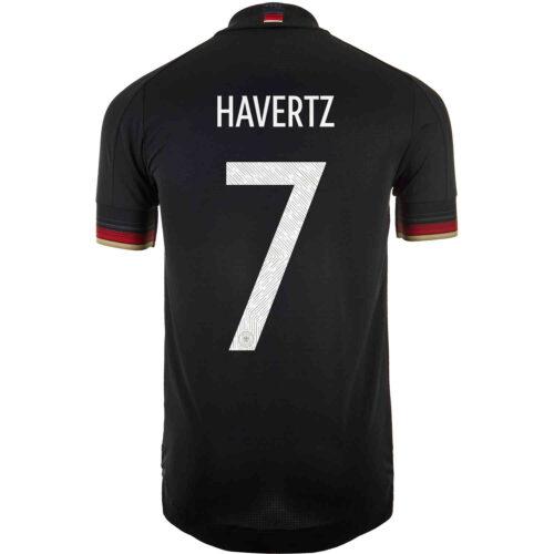 2021 adidas Kai Havertz Germany Away Authentic Jersey