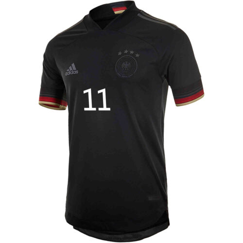 2021 adidas Timo Werner Germany Away Authentic Jersey