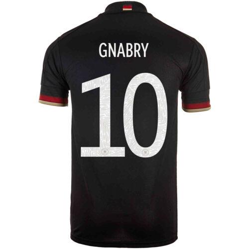 2021 adidas Serge Gnabry Germany Away Jersey