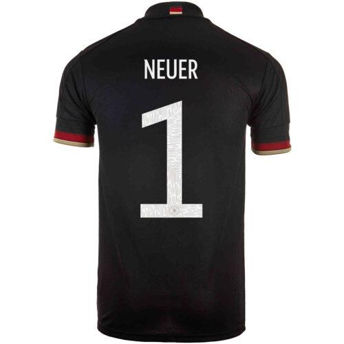 2021 adidas Manuel Neuer Germany Away Jersey