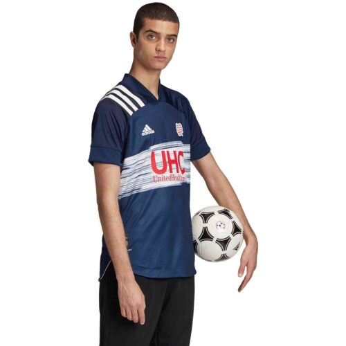 2020 adidas New England Revolution Home Authentic Jersey