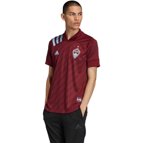 2020 adidas Colorado Rapids Home Authentic Jersey