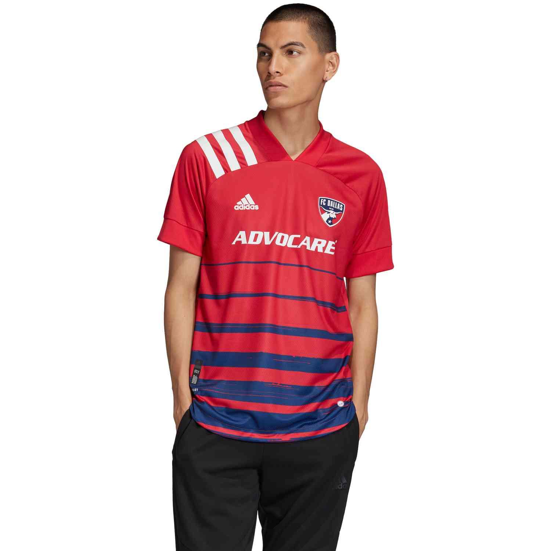 2020 adidas FC Dallas Home Authentic Jersey - SoccerPro