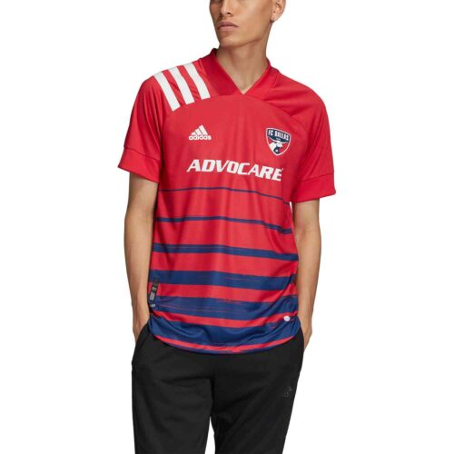 2020 adidas FC Dallas Home Authentic Jersey