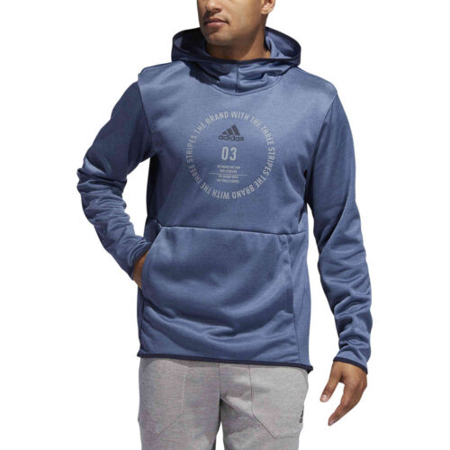 adidas Team Issue Lifestyle Badge of Sport Hoodie – Tech Ink