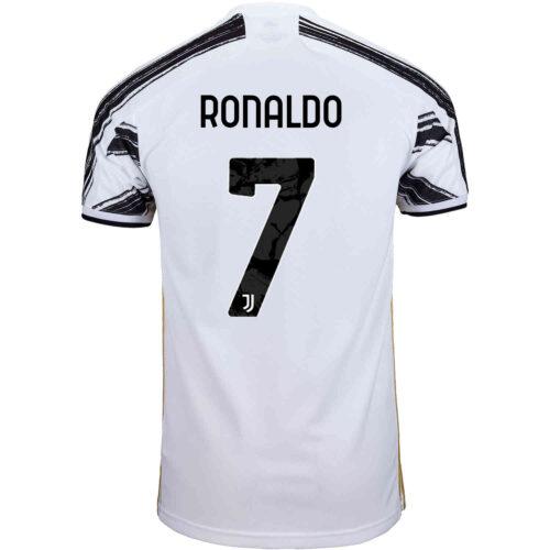 2020/21 Kids adidas Cristiano Ronaldo Juventus Home Jersey