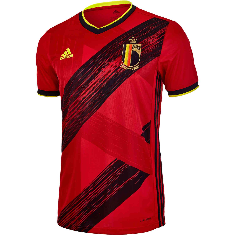 2020 adidas Belgium Home Jersey - SoccerPro