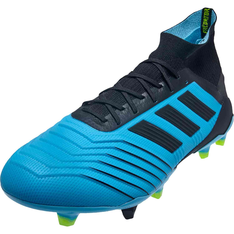 adidas Predator 19.1 FG Blue Black
