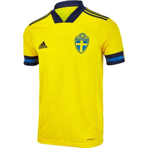 2020 adidas Sweden Home Jersey