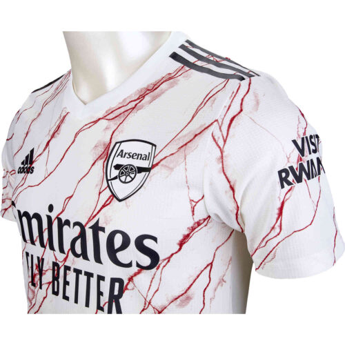 2020/21 adidas David Luiz Arsenal Away Authentic Jersey