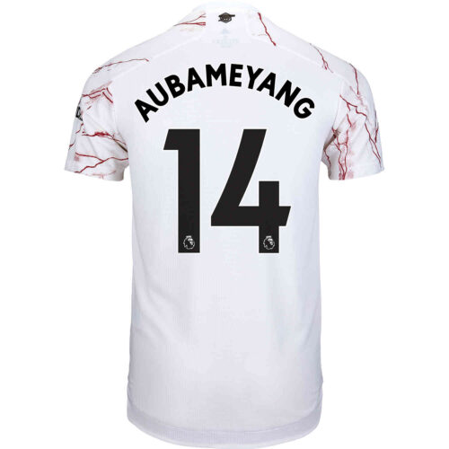 2020/21 adidas Pierre-Emerick Aubameyang Arsenal Away Authentic Jersey