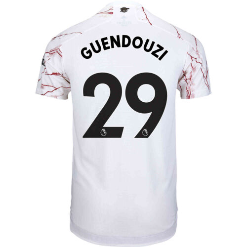 2020/21 adidas Matteo Guendouzi Arsenal Away Authentic Jersey
