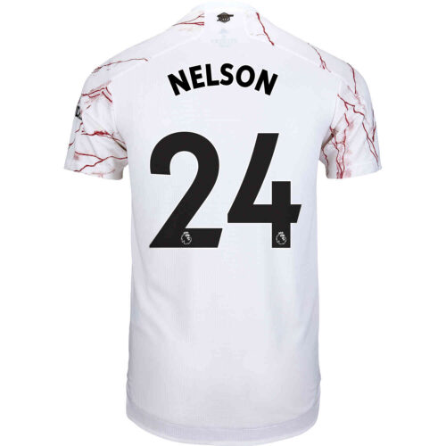 2020/21 adidas Reiss Nelson Arsenal Away Authentic Jersey