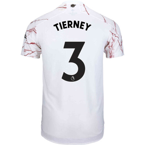 2020/21 adidas Kieran Tierney Arsenal Away Authentic Jersey
