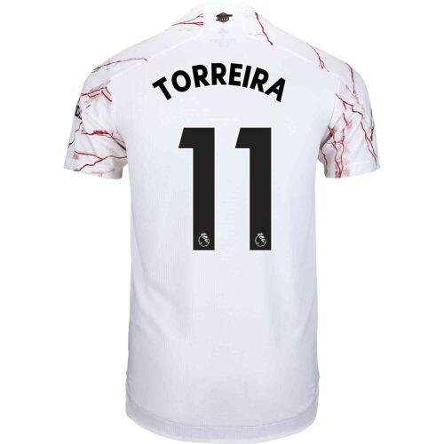 2020/21 adidas Lucas Torreira Arsenal Away Authentic Jersey