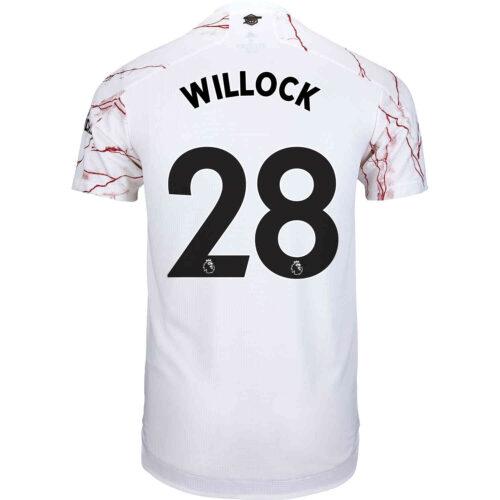2020/21 adidas Joe Willock Arsenal Away Authentic Jersey
