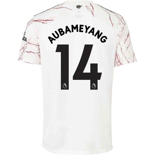 2020/21 Kids adidas Pierre-Emerick Aubameyang Arsenal Away Jersey
