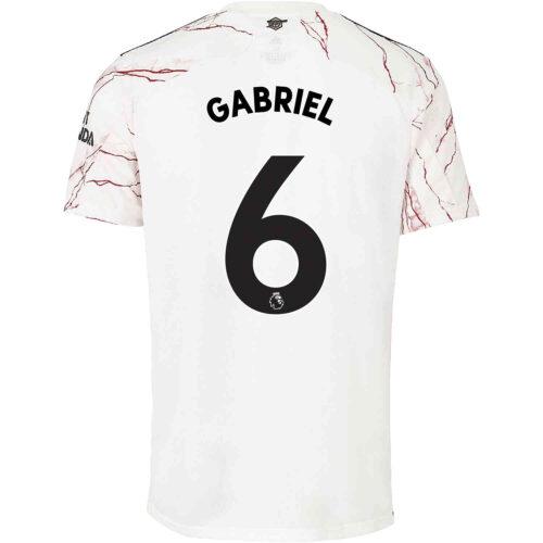 2020/21 Kids adidas Gabriel Arsenal Away Jersey