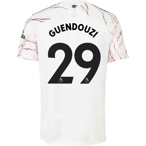 2020/21 Kids adidas Matteo Guendouzi Arsenal Away Jersey