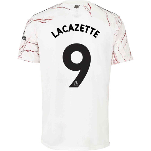 2020/21 Kids adidas Alexandre Lacazette Arsenal Away Jersey