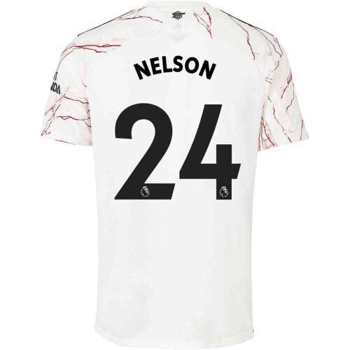 2020/21 Kids adidas Reiss Nelson Arsenal Away Jersey