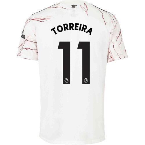 2020/21 Kids adidas Lucas Torreira Arsenal Away Jersey