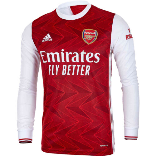 2020/21 adidas Arsenal Home L/S Stadium Jersey