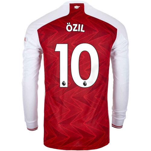 2020/21 adidas Mesut Ozil Arsenal Home L/S Stadium Jersey