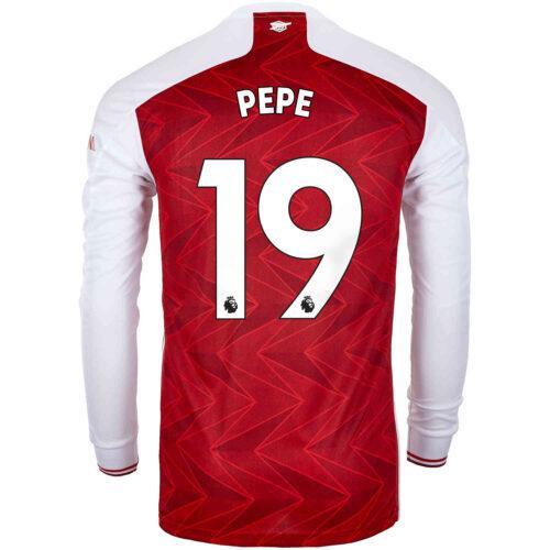 2020/21 adidas Nicolas Pepe Arsenal Home L/S Stadium Jersey