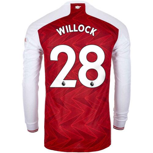 2020/21 adidas Joe Willock Arsenal Home L/S Stadium Jersey